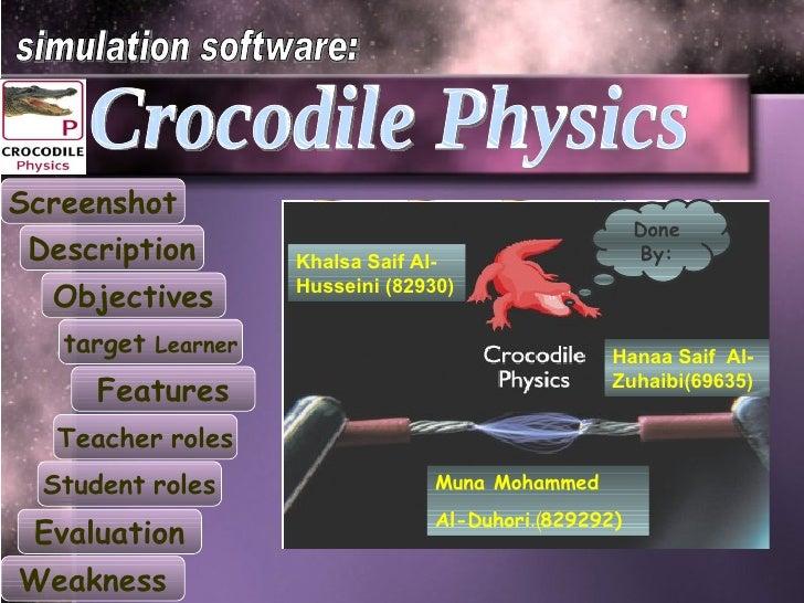 crocodile physique 605
