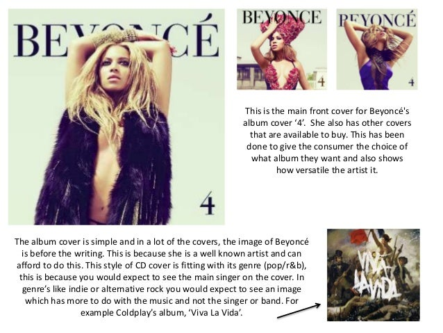 This is the main front cover for Beyoncésalbum cover '4'. She also has other coversthat are available to buy. This has bee...