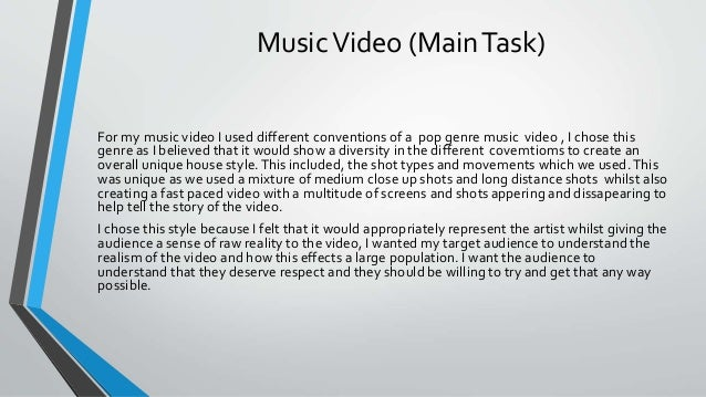 Evaluation 2 media studies Slide 3