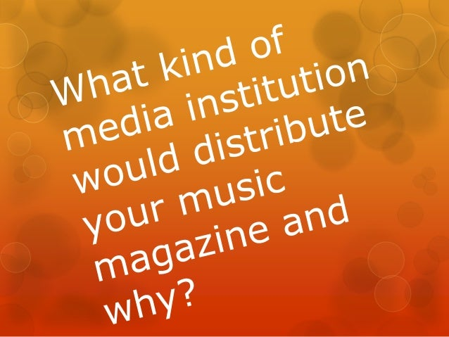 "In America…   America has a number of prestige well known RnB/ Pop magazines like ""Billboard"", ""Vibe"" etc. that are distr..."