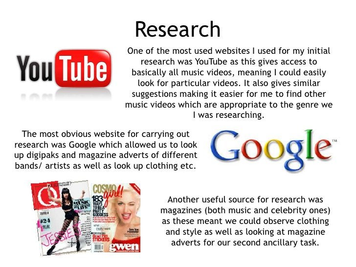 Research                            One of the most used websites I used for my initial                               rese...