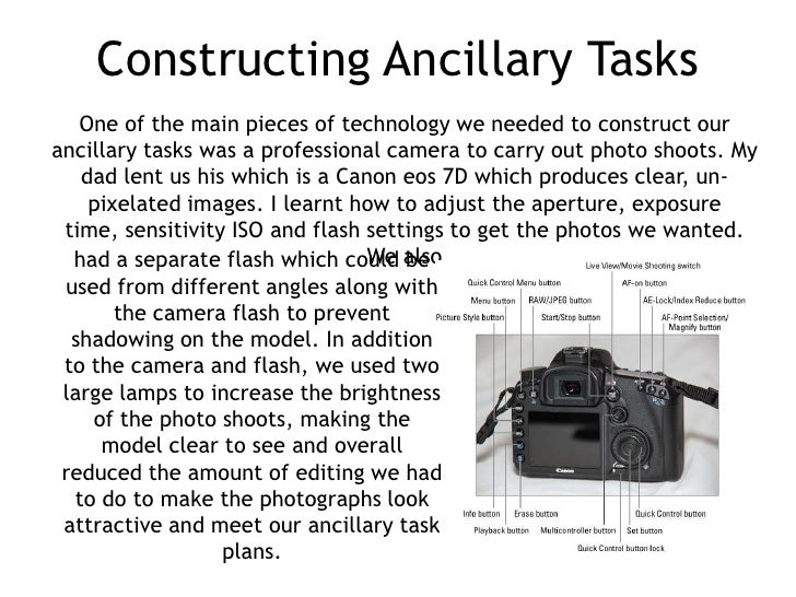 Constructing Ancillary Tasks   One of the main pieces of technology we needed to construct ourancillary tasks was a profes...