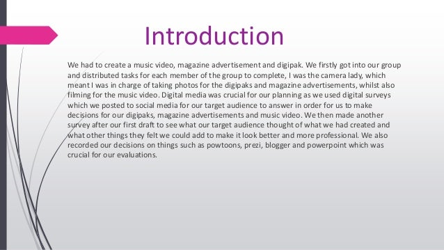 Evaluation 4 Slide 2