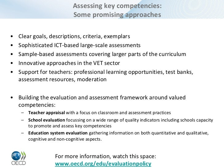 Innovative Classroom Practices Using Ict In England ~ Oecd review on evaluation and assessment frameworks for