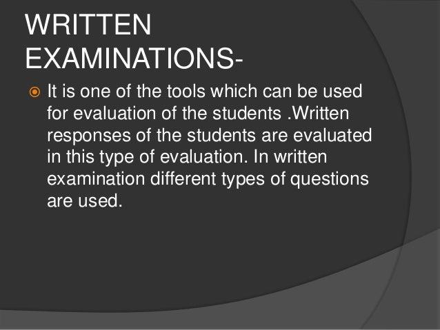 Evaluation by quantitative and qualitative tools   Slide 2