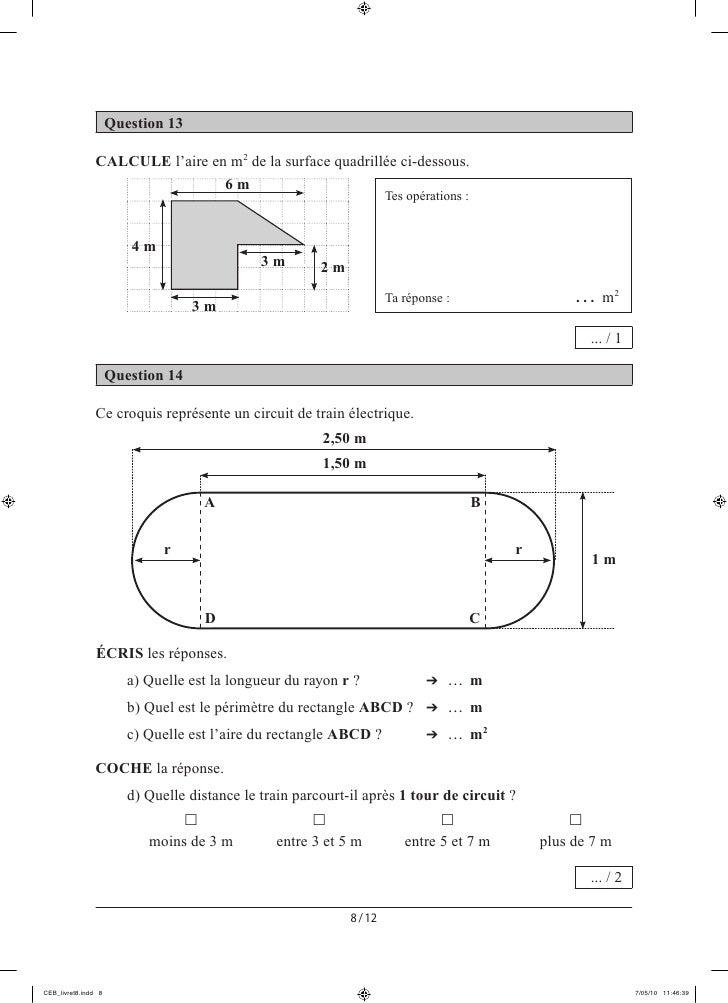 evaluation certificative epreuves externes communes ceb 2010. Black Bedroom Furniture Sets. Home Design Ideas
