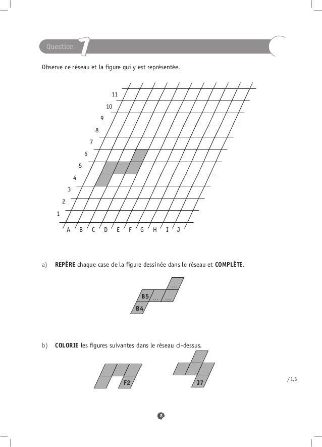 Question                     7Observe ce réseau et la figure qui y est représentée.                                       ...