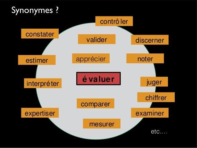 Quand évaluer ? Avant la formation Évaluation diagnostique orienter l'action Pendant la formation Évaluation formative rég...