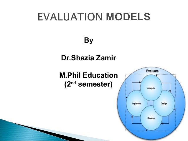 By Dr.Shazia Zamir M.Phil Education (2nd semester)