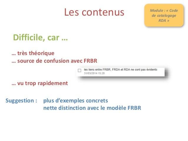 Quels changements ? :: Le nom et l'URL du formulaire ? https://fr.surveymonkey.com/s/formation-transition-bibliographique ...