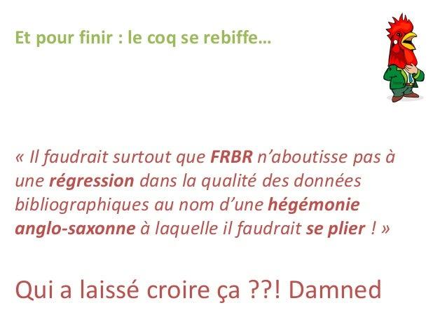 """Evaluation nationale de la formation """"Pré-requis à l'évolution des catalogues et des règles de catalogage"""" en France"""