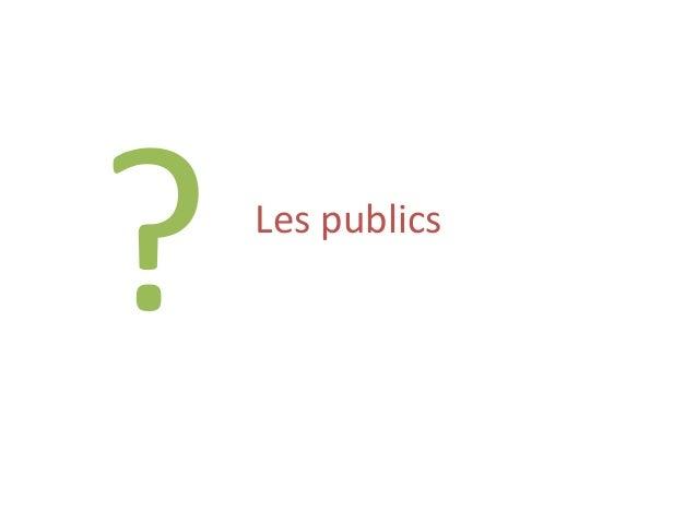 Les publics