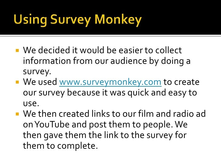 Evaluation Of  Audience  Feedback Slide 2
