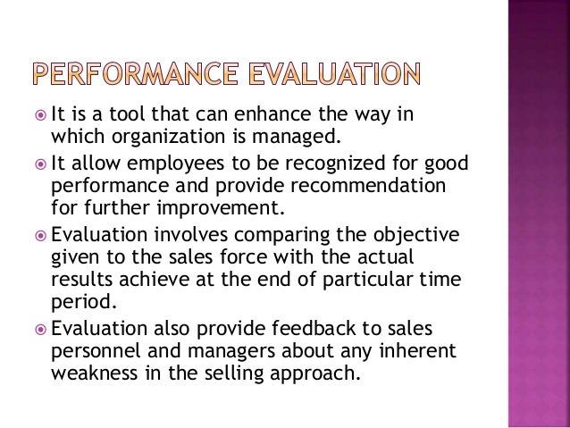 Evaluation of channel performance