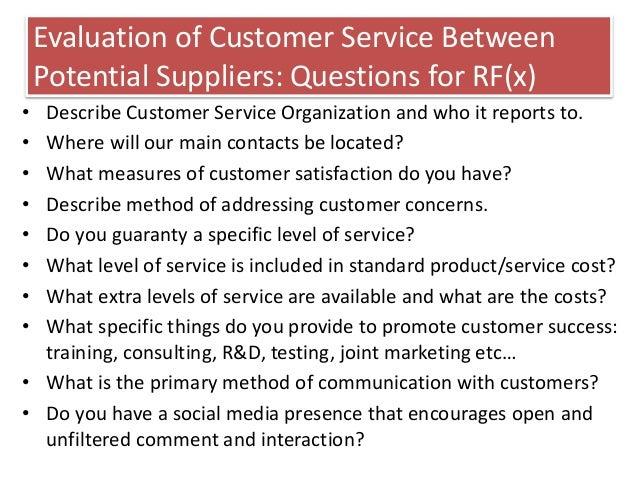 describe customer service