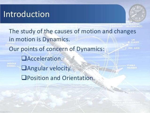 Evaluation of dynamics | Gyroscope, Accelerometer, Inertia Measuring Unit and Kalman Filter Slide 2