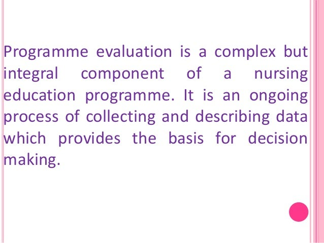 nursing course evaluation essay Evaluation essay writing is generally based on examining the subject and stating the verdict how to write evaluation essay nursing personal philosophy.
