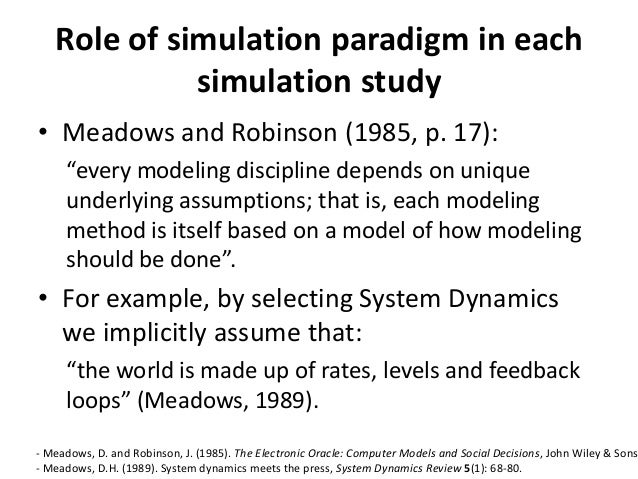 using system dynamics in business simulation
