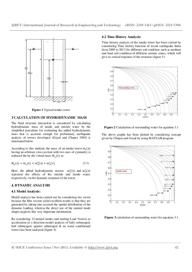 Evaluation of performance of intake tower dam for recent earthquake in india Slide 2