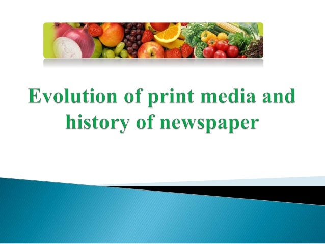 """ The first Indian media was established in the Late 18 th century with print media started in 1780s.  """"Media"""" refers to ..."""