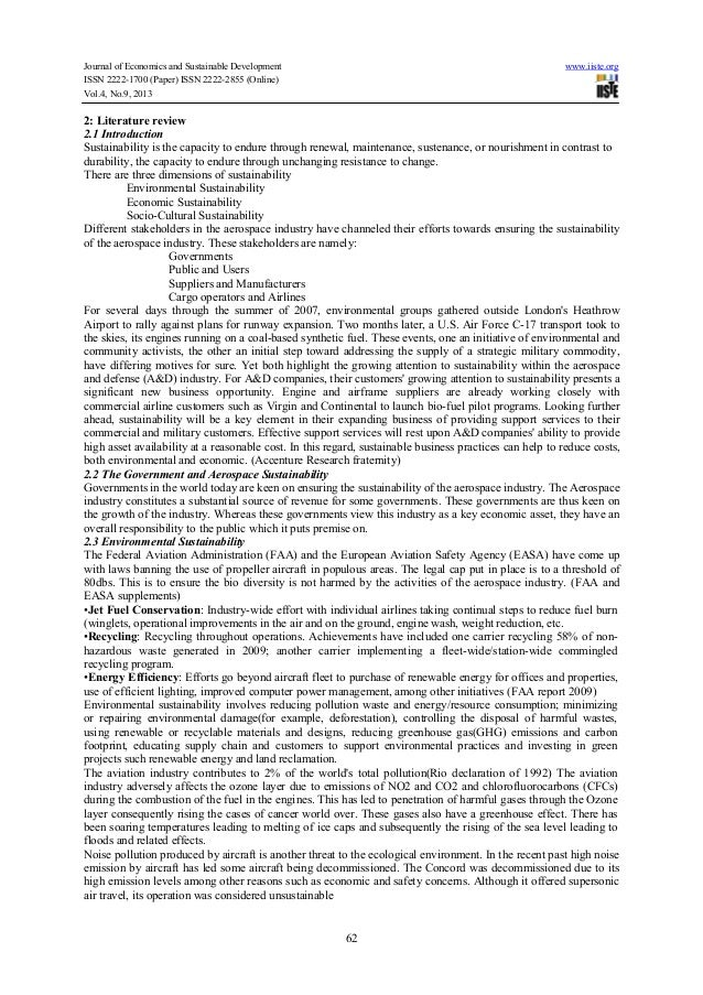 review if literature in aviation industry View essay - introduction and literature review from nursing 02 at oxford college of london chapter one: introduction 11 background the catering sector in the.