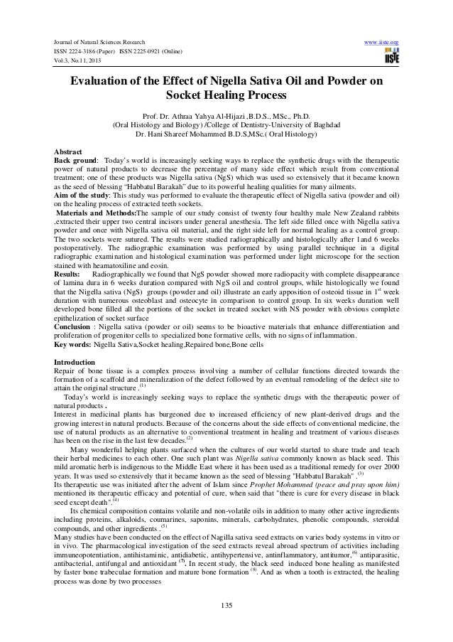 Journal of Natural Sciences Research ISSN 2224-3186 (Paper) ISSN 2225-0921 (Online) Vol.3, No.11, 2013  www.iiste.org  Eva...