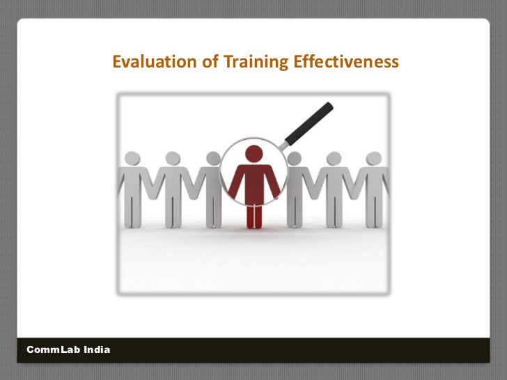 measuring effectiveness of training program As safety professionals, all of us have a basic understanding of the effectiveness of our safety program--but what about our safety training specifically many people, unfortunately, see safety training as a compliance issue: something that has to get done, not necessarily something that is really going to change or impact safety performance.
