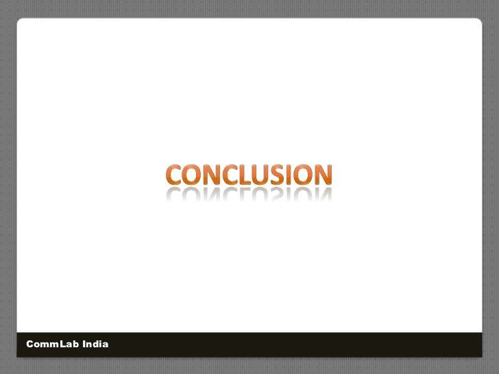 Conclusion<br />CommLab India<br />