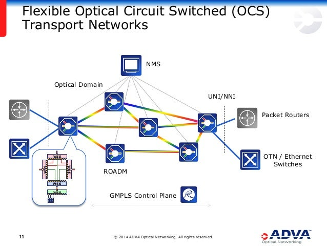 © 2014 ADVA Optical Networking. All rights reserved.1111 Flexible Optical Circuit Switched (OCS) Transport Networks Packet...