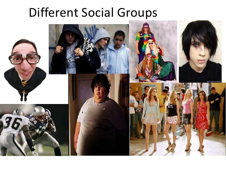 Different Social Groups