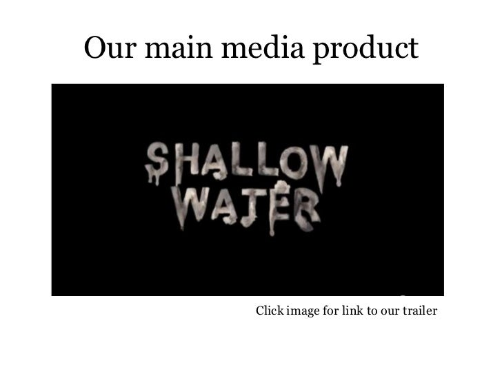 How effective is the combination of your main media product and ancillary texts? Slide 2