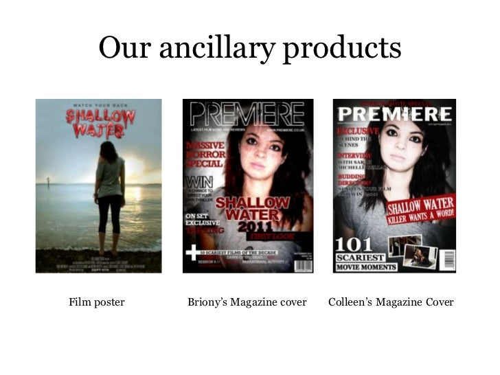 How effective is the combination of your main media product and ancillary texts? Slide 3