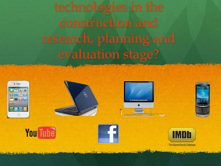 technologies in the   construction andresearch, planning and   evaluation stage?