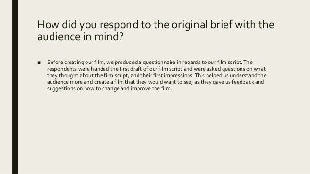 Evaluation question 3 Slide 2
