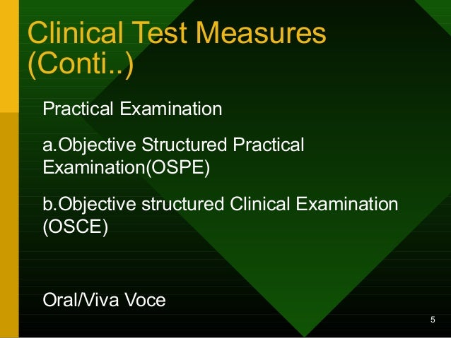 Objective structured clinical examination nursing essay