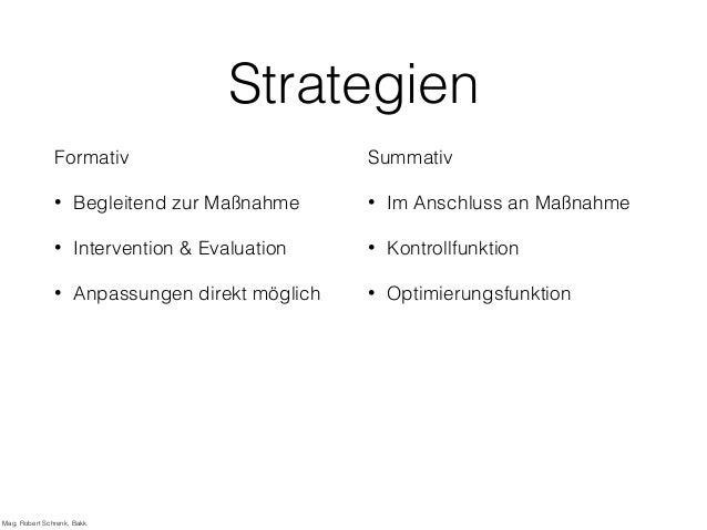 Evaluation von Fortbildungsmaßnahmen Slide 3