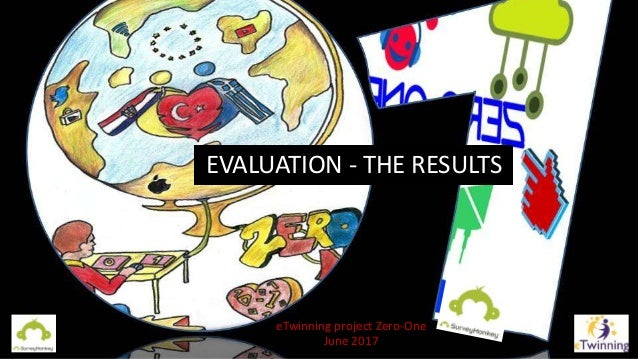 EVALUATION - THE RESULTS eTwinning project Zero-One June 2017