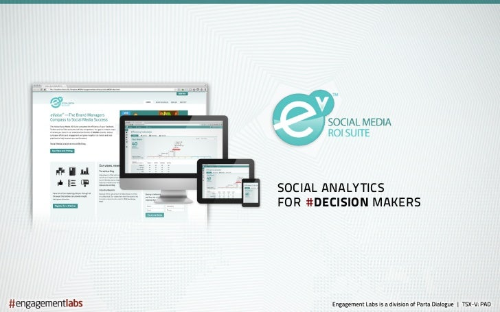 SOCIAL ANALYTICSFOR # DECISION MAKERS