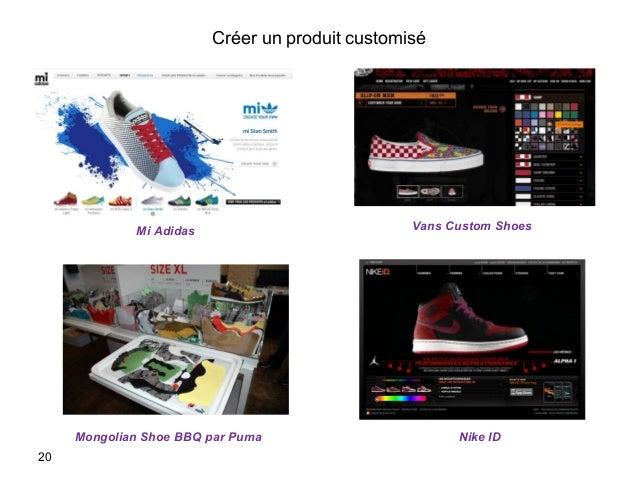 Créer un produit customisé 20 Mi Adidas Nike ID Vans Custom Shoes Mongolian Shoe BBQ par Puma