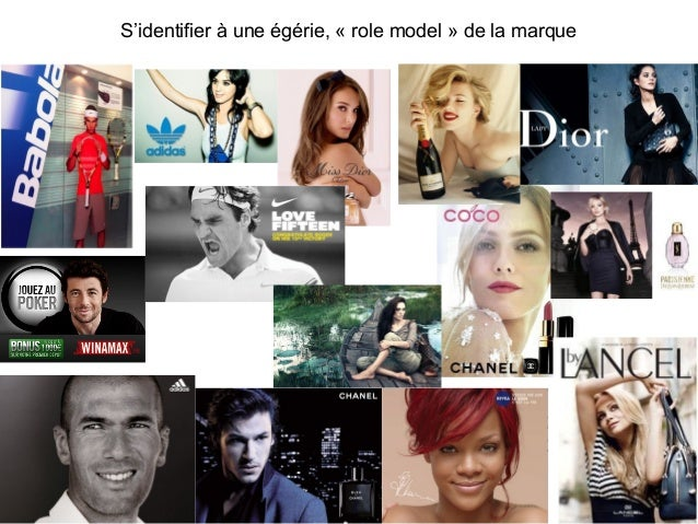S'identifier à une égérie, « role model » de la marque 23
