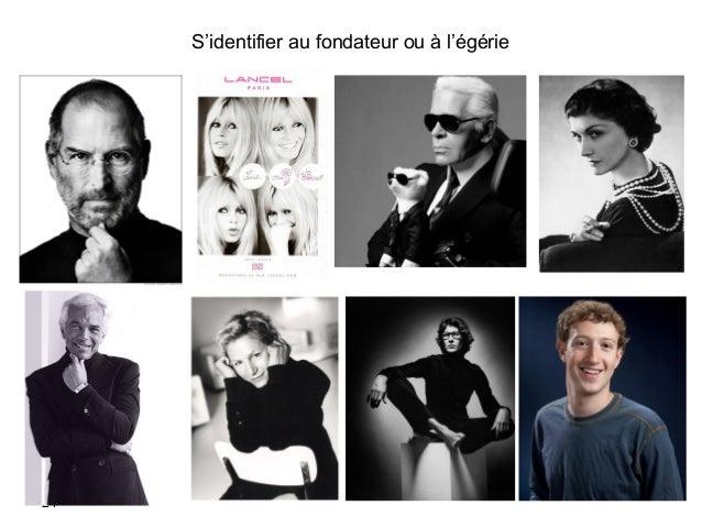 S'identifier au fondateur ou à l'égérie 24