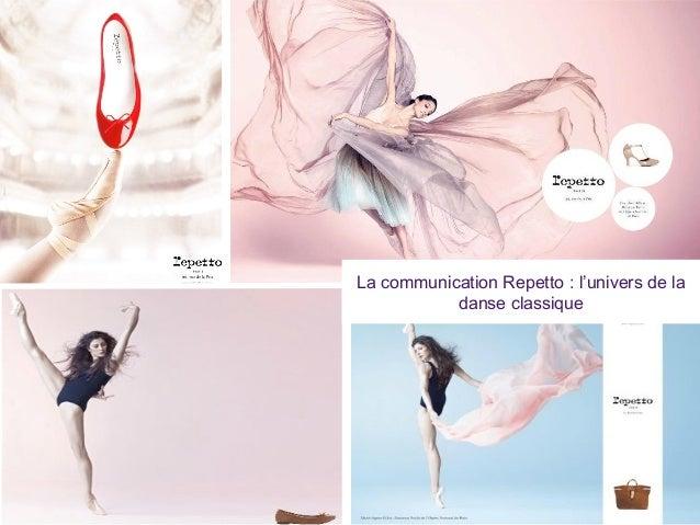 La communication Repetto : l'univers de la danse classique