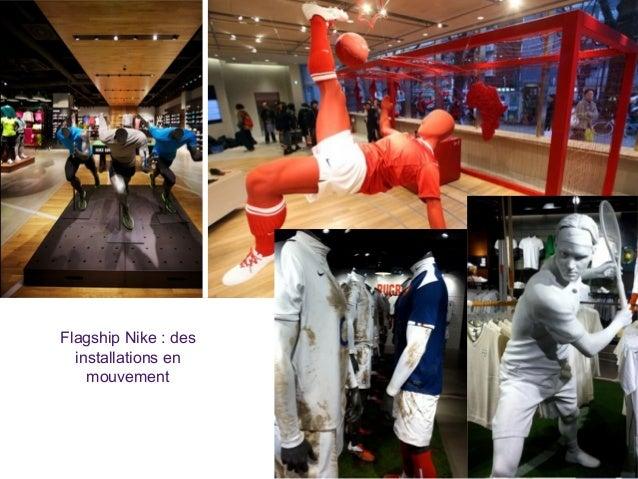 Flagship Nike : des installations en mouvement