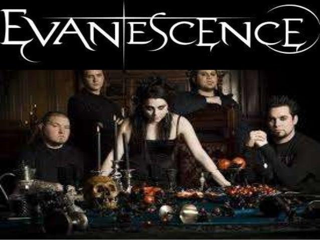 BIOGRAFIA   Evanescence es una banda estadounidense de rock alternativo y metal alternativofundada en Little Rock, Arkans...