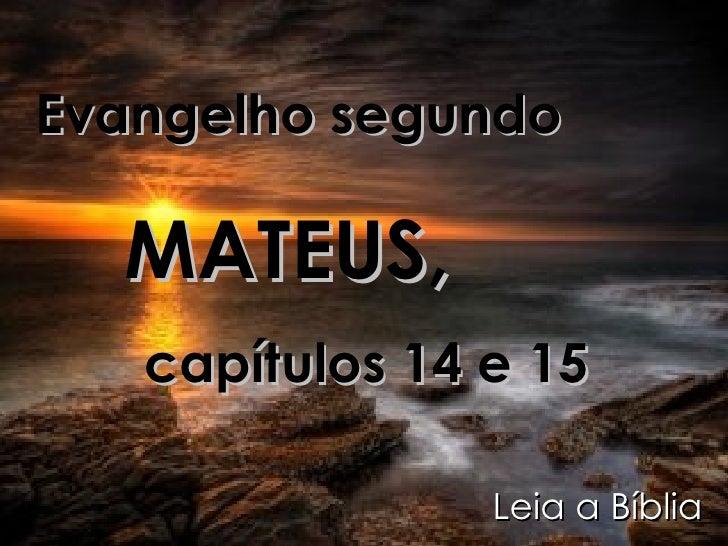 Evangelho de Mateus 5