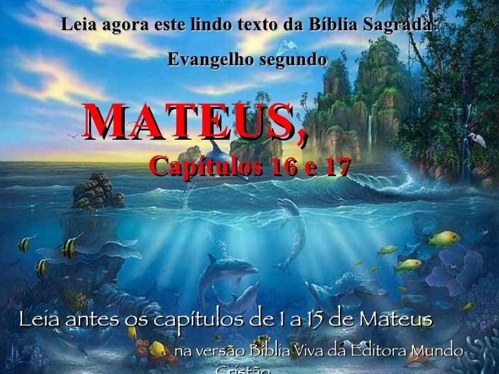 Evangelho de Mateus 6