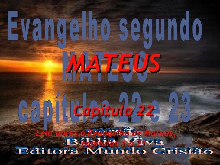 Evangelho de Mateus 9