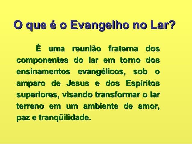 QUEM INSTITUIU OQUEM INSTITUIU O EVANGELHO NO LAR?EVANGELHO NO LAR? JesusJesus