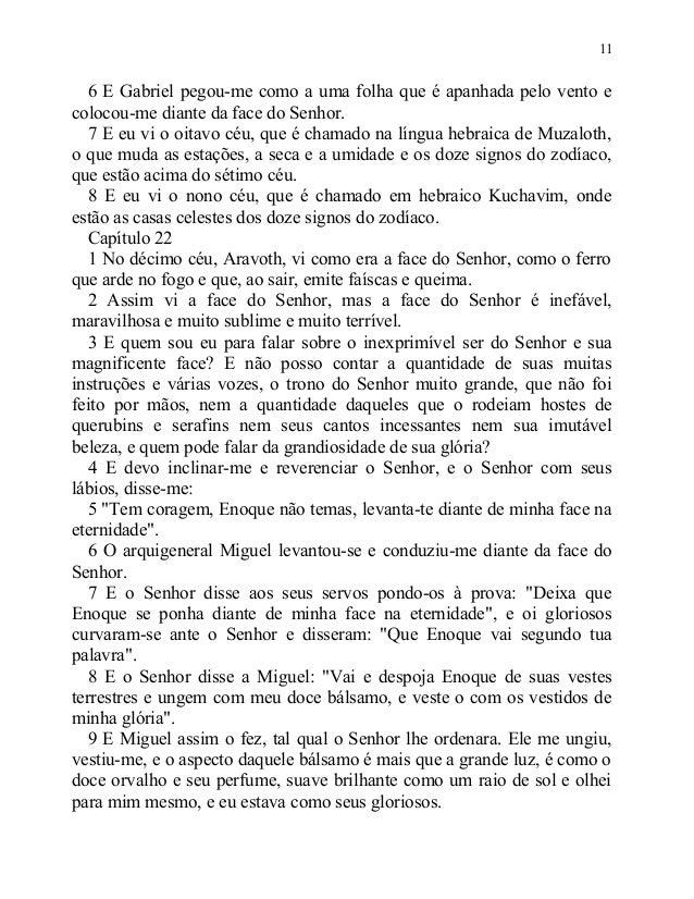 Evangelhos apócrifos livro dos segredos de enoque