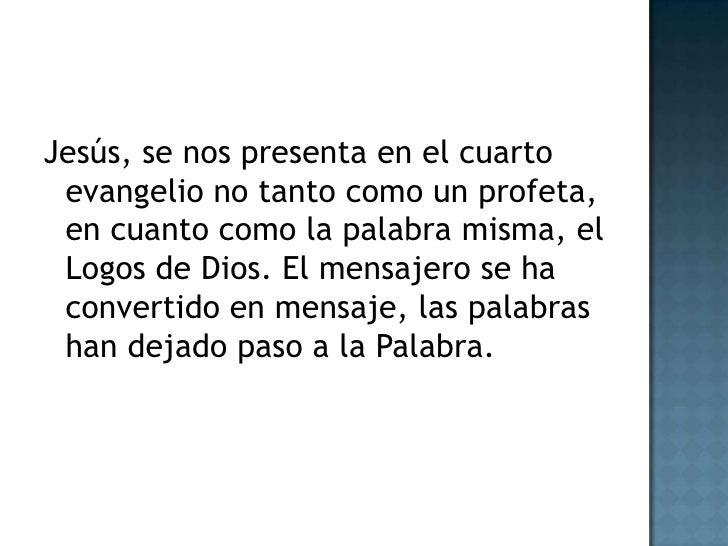 Evangelio Segun San Juan Teologia